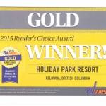 RV West Gold Award Reader's Choice