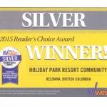 RV West Silver Award Reader's Choice